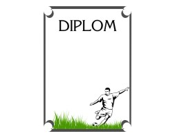 Football player diplom